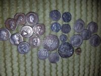 WANTED METAL DETECTOR FINDS AND COINS FROM THE CELTIC PERIOD TO EARLY MILLED COINS.