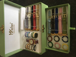 Interchangeable ladies watch set