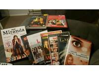 9 Assorted DVDs