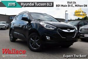 2015 Hyundai Tucson GLS/1-OWNER/CLEAN HSTRY/DUAL SUNROOF/REAR CA
