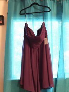 Plus Size Purple Dress, Size 24 (fits smaller)