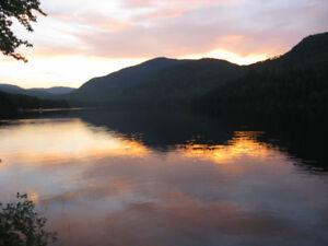Charlevoix, bord de l'eau, tranquilité, négotiable
