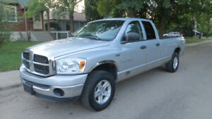 2007 Ram 1500 SLT 4x4 Only 127K Great Condition