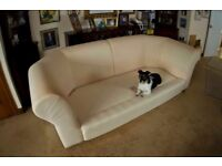 Large Chesterfield sofa and 2 chairs