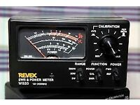 Ham Radio - Revex W520 Swr & Power Meter - Swap Or Sell