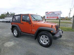2011 Jeep Wrangler Sport! CERTIFIED!