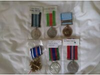 6 Medal from WW2 and just after the war