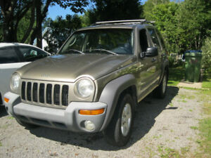 2003 Chrysler jeep lyberty sport
