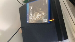 """Barely Used 500GB PS4 """"Bundle"""" including Fallout 4+Unchartereds"""