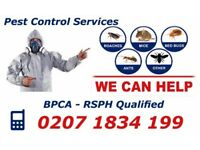 100% Guaranteed Pest Control Service / Mice, Bedbugs, Ants, Cockroach, Wasps and all other pests