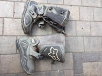 FOX Forma Motocross boots size 7/ 8