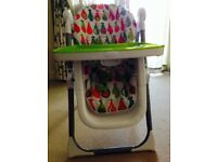 Mamas & Papaa Pesto Pear Highchair - Mint condition