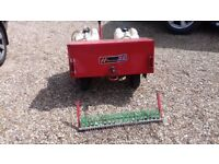 Westwood towed Lawngroomer - Aerator, sprayer, rake