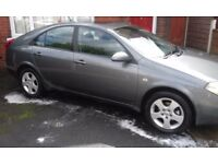 Nissan Primera 2004 petrol 1800cc (NOW REDUCED) IF NOT SOLD BY MONDAY ITS GOING ON EBAY