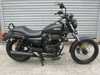SINNIS Hoodlum EU4 125cc Cruiser 2017 brand new model