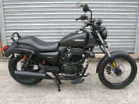 SINNIS Hoodlum EU4 125cc Cruiser 2017 brand new 1 only at this price