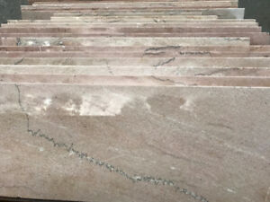 "REDUCED: 25 Thick Marble Slabs (35"" x 10"" x 1-1/4"")"