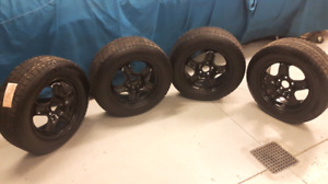 Winter tires and rims -- BF GOODRICH- 225 65R17