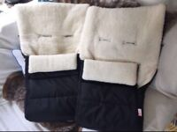 Faux fur buggy liners