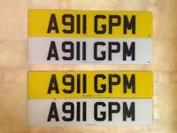 A911 Vehicle Registration on Retention Certificate