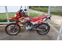 Honda XR125 learner legal