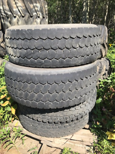 11RX24.5 Heavy Truck Tires- Floatation Tires