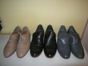 THREE PAIRS OF NICE VINTAGE MENS DRESS SHOES size 8