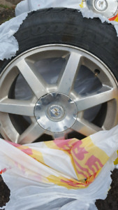 Cadillac rims with tires