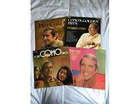 4 x Perry Como Vinyl Albums