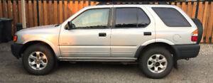 1998 Isuzu Rodeo SUV, Crossover