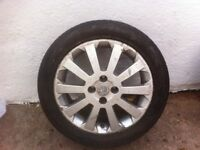 Vauxhall Astra SXI alloy wheels