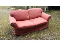 Sofa bed from Sofasofa, Newport. Red. Free to collector.