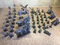 Job lot - War Hammer Figures - Elves, Demons, Individual Figures