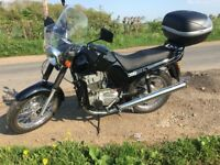 350 2-stroke Jawa motorcycle, 2016 model type approved with V5