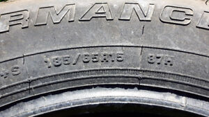 USED SELECTION OF TIRES