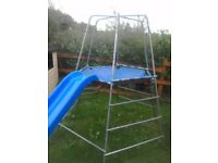 TP climbing frame with slide. Person collecting will need to dismantle. Extension available