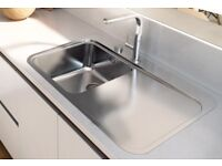Franke Sinos Stainlss Stee Sink Right Hand New £300
