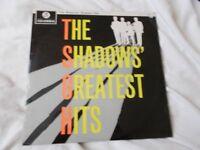 Vinyl LP The Shadows Greatest Hits – Columbia SCX 1522 Stereo
