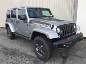 2017 Jeep WRANGLER UNLIMITED Rubicon Recon +Cuir, 2 Toits+
