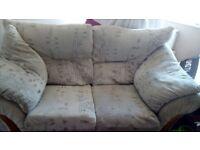 2 x2 seater sofa