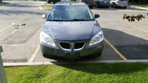 PONTIAC G6, 09, ACTIVE, SECOND OWNER, QUICK SELL 2600$FIRM PRICE
