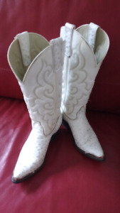 Texas All American cowboy boots ladies size 6M $90 takes