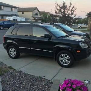 2008 TUCSON HYUNDAI AWD LATHER