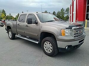 2013 GMC SIERRA 2500HD DURAMAX CREW SLE SHORTBOX 4X4