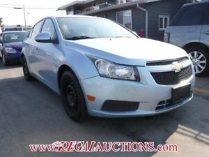 2012 CHEVROLET CRUZE LT 4D SEDAN TURBO LT