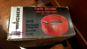 New  twin stroke airless paint hose