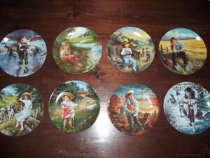 Canadian Childhood Collection Plates!