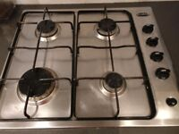 Capel 4 ring gas hob