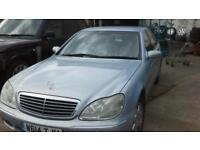 Mercedes s280 2001 breaking for parts petrol automatic