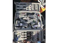 Air tool set 77 piece set